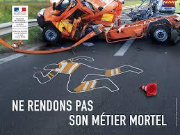 Les agents d'entretien des routes