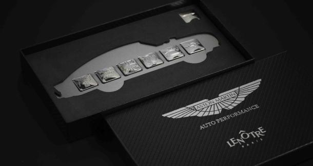 Les fèves Aston Martin de chez Lenôtre