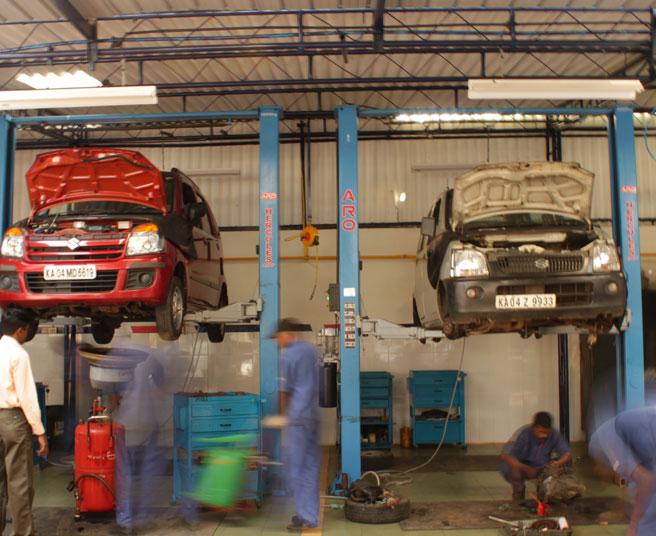 Garagistes en action