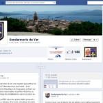 profil facebook gendarmerie du var