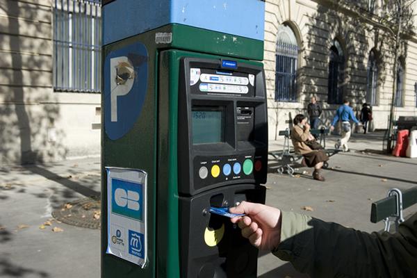 horodateurs parisiens paiement par carte bancaire. Black Bedroom Furniture Sets. Home Design Ideas