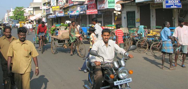Circulation en Inde