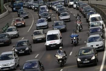 remontée inter file des motos
