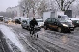Des pistes cyclables chauffées