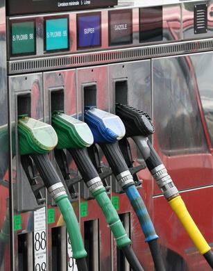 pompe à essence - gazole