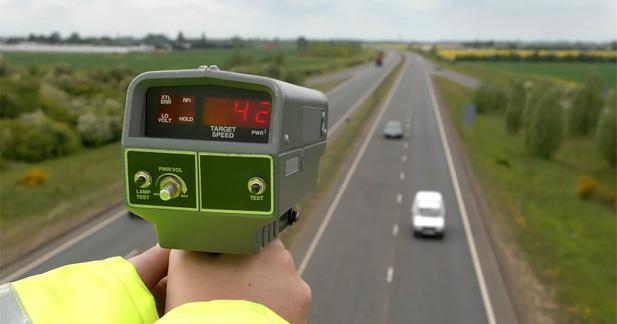 contrôle radar infraction à la vitesse