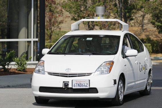 taxi autopiloté google